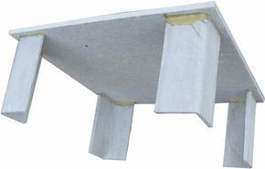 纤维水泥隔热凳、屋顶隔热凳、楼顶架空隔热凳、隔热凳