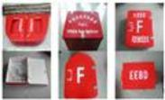 玻璃钢消防器材箱 消防水龙带转盘箱
