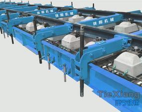 无砟轨道施工单梁式轨排架