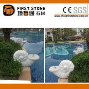 花岗岩海螺雕刻喷泉GAF312