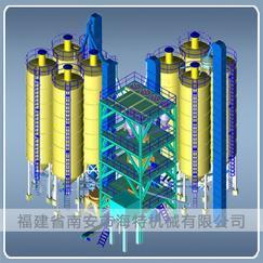 SHB双混式干混砂浆生产设备