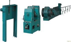 郑州国韵两面带肋钢筋高频热处理生产线设备20090318