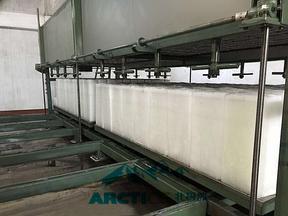 东莞北极冰5吨中型直冷块冰机 大型制冰机 直冷冰砖机