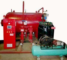 蓝机气体顶压设备上海蓝机消防气体顶压给水设备
