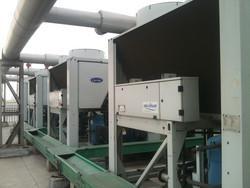 开利风冷热泵空调维修