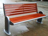 西安园林座椅,塑木公园椅子