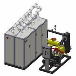 SBS小型冷凝整体锅炉房/冷凝锅炉房/冷凝壁挂炉