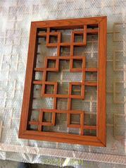铝窗花 古建铝窗花 仿古木纹铝窗花供应
