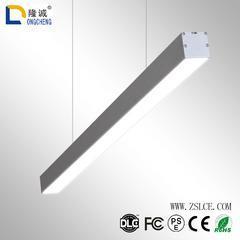 办公吊灯led吊线灯长条灯线条灯条形灯长方形办公室照明