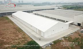 大型仓库帐篷 装配式铝合金篷房 低成本高利用率