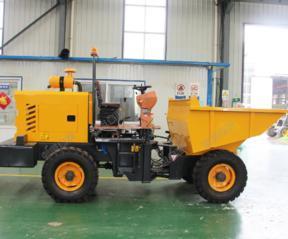 小型工程装载翻斗运输车