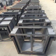 鑫译德矩形槽钢模具,混凝土矩形槽钢模具加工定制