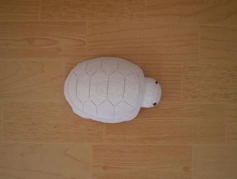 砂岩龟雕刻,14cm长