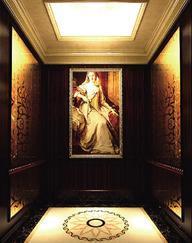 DMJ-002 电梯装修 电梯装饰 酒店电梯装修