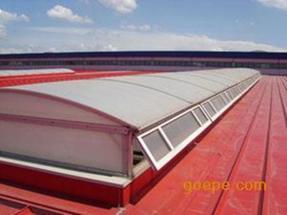 圆拱型侧开电动采光排烟天窗09J621-2专业厂家