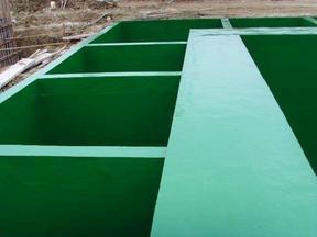 专业污水处理池防腐施工 专业施工队承接玻璃钢防腐工程