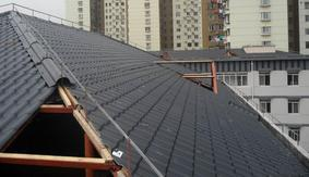 合成树脂瓦3.0mm厚屋面瓦|仿古琉璃瓦|别墅装饰瓦
