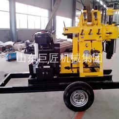 巨匠集团供应大型勘探钻机 XYX-200轮式液压岩芯钻机 轮式行走