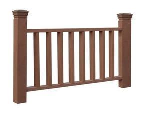 陕西、成都、长沙供应安装方便,规格多样,颜色多样,后期免维护的塑木栏杆
