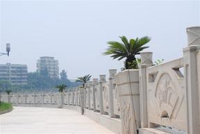 驰升桥梁铸造石栏杆