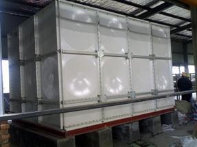 山东玻璃钢水箱_装配式镀锌钢板水箱