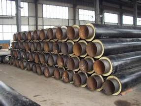 聚乙烯聚氨酯泡沫保温钢管