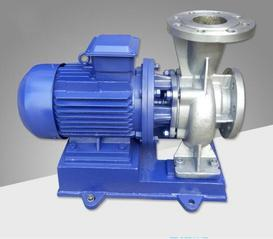 供应ISW100-400(I)B管道泵 卧式管道离心泵 不锈钢耐腐蚀离心泵 清水离心泵