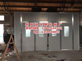 定制喷漆房环保设备江苏厂家环保无泵水幕喷漆房废气处理