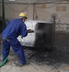 聚脲涂料喷涂华为埋地储柜防水防腐