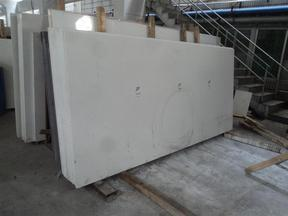 HQG101人造石水晶白大板