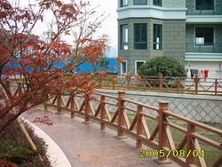 供应塑木护栏围栏