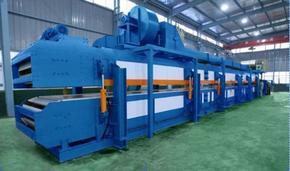 聚氨酯保温板生产线