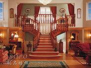 铁艺楼梯 别墅楼梯 复式房楼梯 铂品楼梯