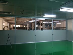 广州十万级净化化妆品净化厂房装修设计