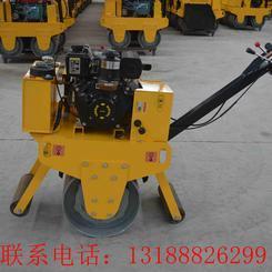 600小型手扶单轮压路机 柴油单钢轮压实机
