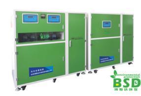 学校实验室废水处理装置调试