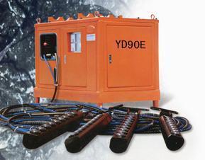 金矿开采新设备YD80E柱塞式劈裂棒