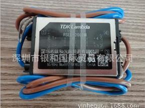 日本原装进口TDK-Lambda电源线滤波器RSEL-2003W