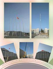 江苏无锡旗杆厂家供应政府单位旗杆,超市广场旗杆,不锈钢旗杆安装