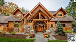 木头房子、木屋别墅、陕西木屋、农家乐木屋