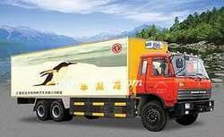 东风双桥冷藏车 厢式卡车 东风厢式车