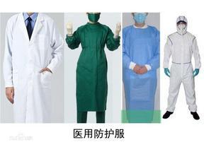 医用防护服、一次性防护服、一次性医用防护服