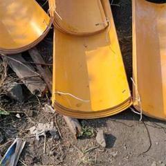 山東礦用塑料溜槽 工業搪瓷溜槽