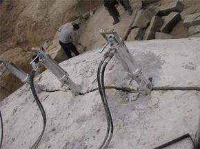 爆破开采矿山设备