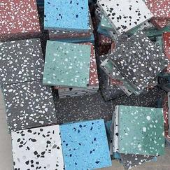 无机水磨石预制板-水磨石不发火预制板-防静电水磨石预制板