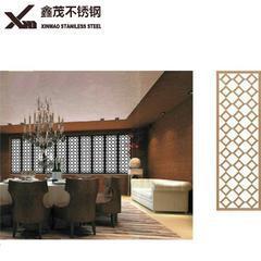 厂家 不锈钢屏风 办公室客厅酒店欧中式移动折叠屏风隔断花格定制