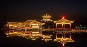 济南景观亮化设计,园区照明工程