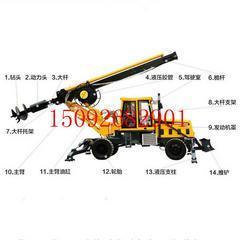 直销轮式旋挖钻机 大口径旋挖钻机 旋转轮式旋挖钻机