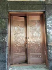 西安铜门价格低安装售后无忧