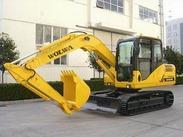 沃尔华厂家直销DLS100-9B 9吨履带式液压挖掘机